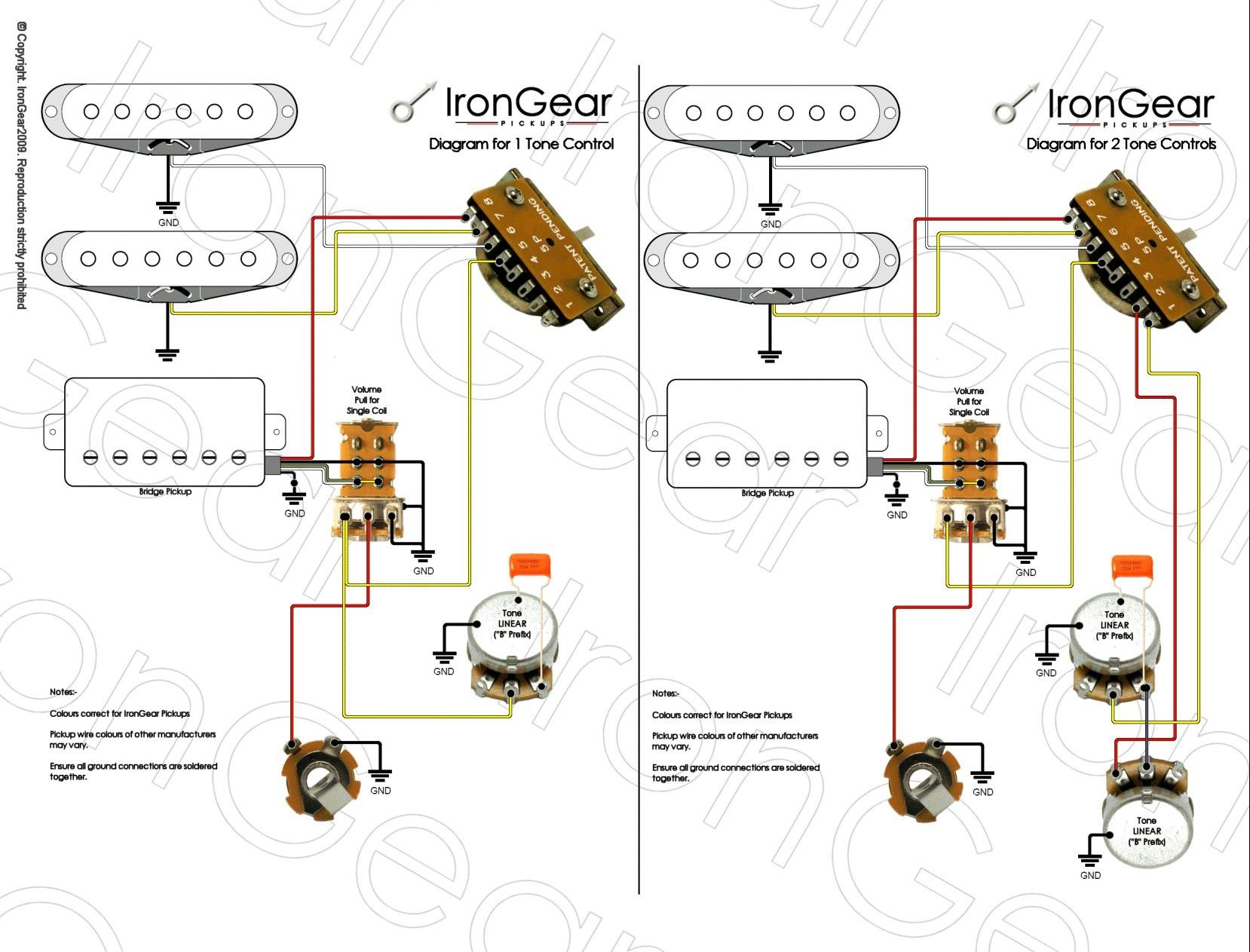 Three Humbucker Wiring Diagram Inspiration Three Humbucker Wiring Diagram Fresh 1 X Humbucker 2 X Single Coil