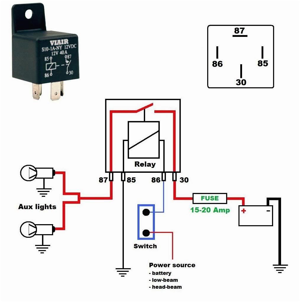 Wiring Diagram For 12V Relay