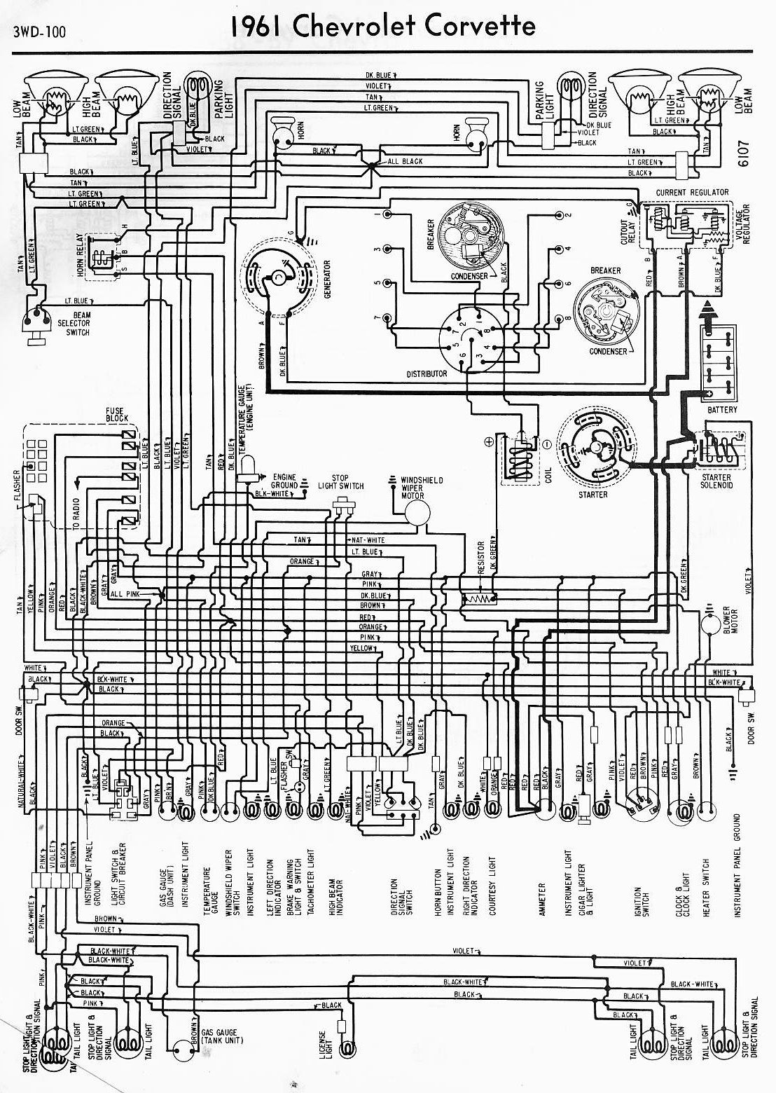 Corvette Wiring Diagram Everything Wiring Diagram