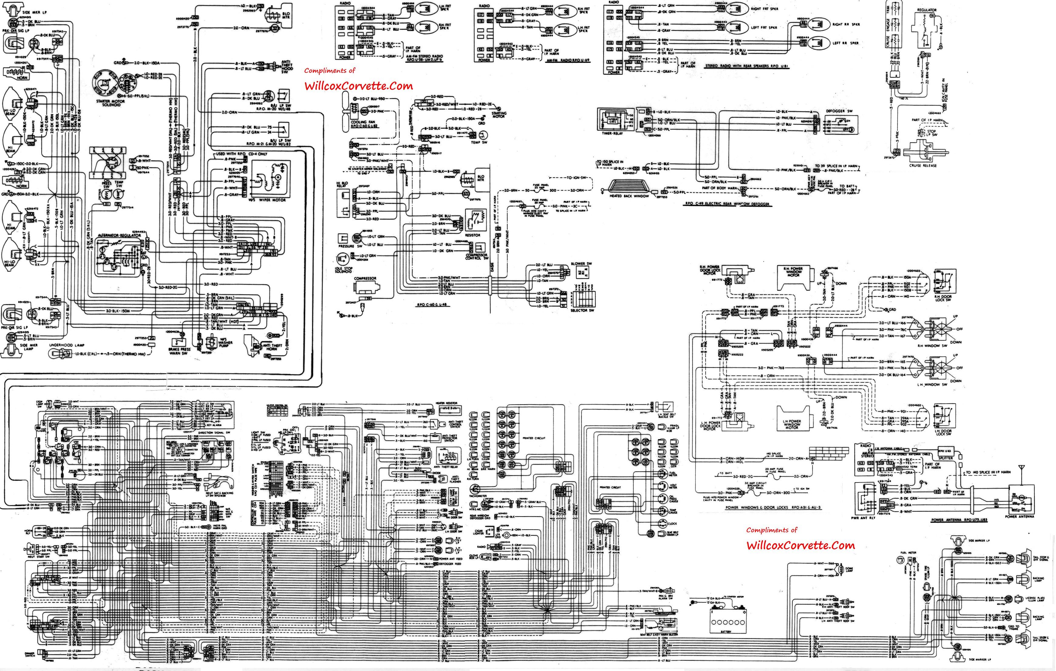 1995 Corvette Wiring Diagrams Free Wire Center 1999 Diagram 1976 Starter Circuit Symbols U2022 Rh Legalcoin Co 1993 Bulkhead