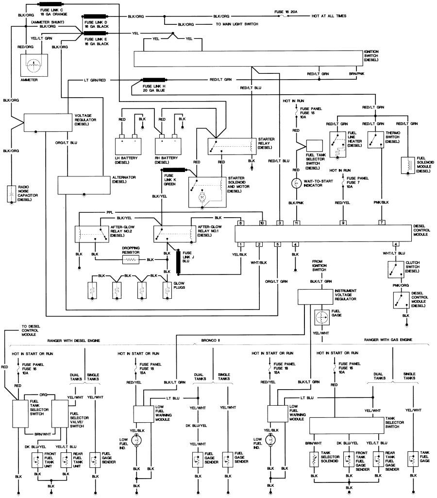 Wiring Diagram For 1989 Ford F150 Circuit And Schematics Xr3 F 150 Data