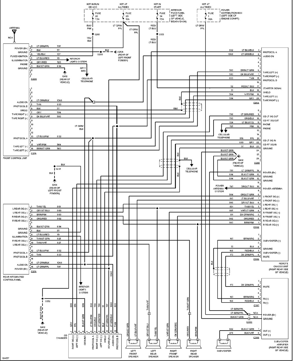 1997 Ford Explorer Radio Wiring Diagram Best Of Wiring Diagram Image 1997  Ford Explorer Wiring Schematic 1997 Ford Ranger Wiring Schematic