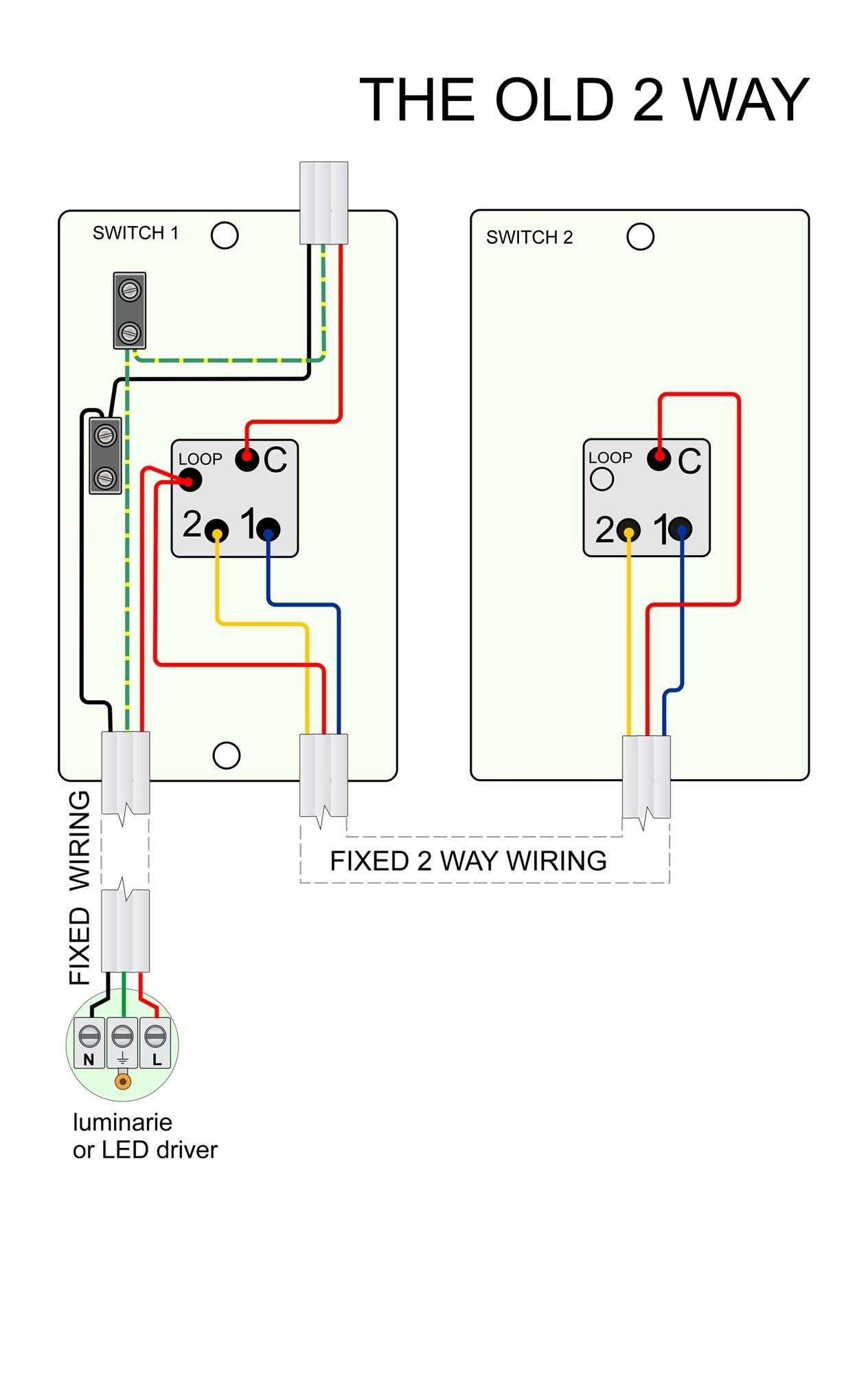 Two Way Switch Wiring Diagram Nz New Light Showy 2