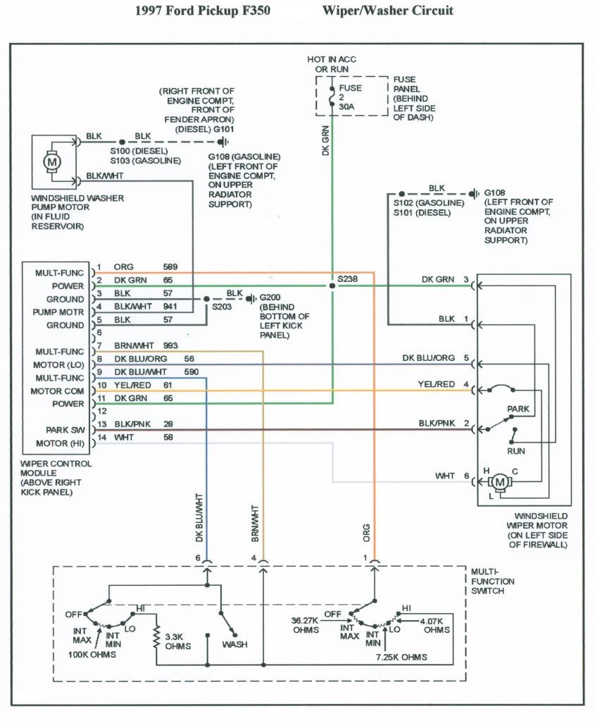 Ford F150 Stereo Wiring Diagram Best 1997 F250 Radio At Webtor And F350
