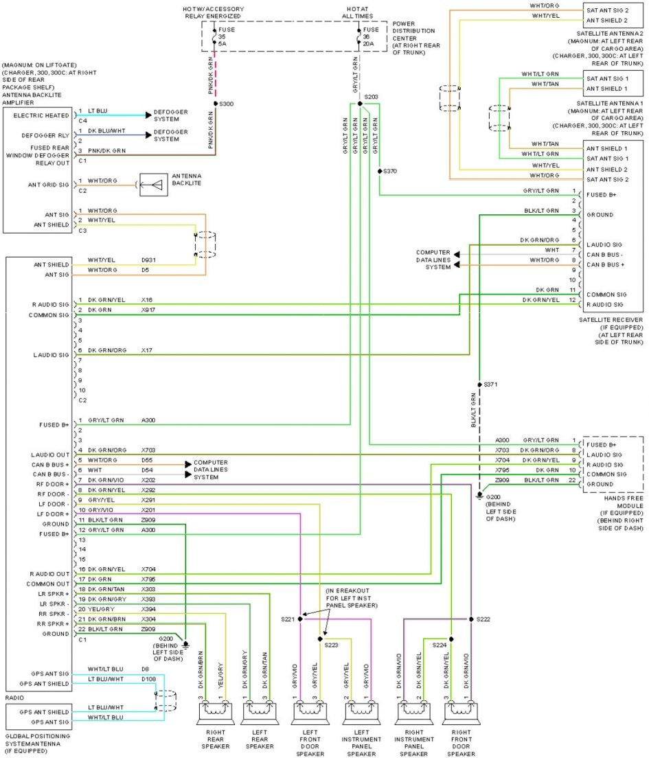 2013 Dodge Charger Fuel System Wiring Diagram Schematic Diagrams Verano Speaker Circuit And Buick 2005
