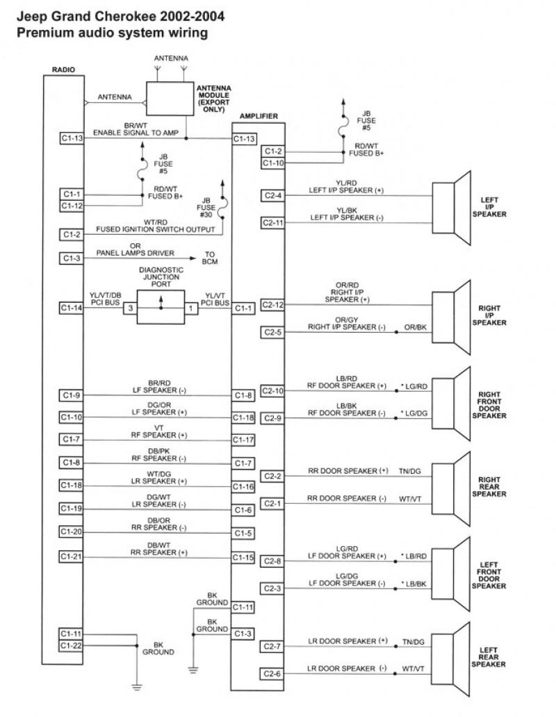Jeep Wk Stereo Wiring Diagram Diagrams Grand Cherokee Radio