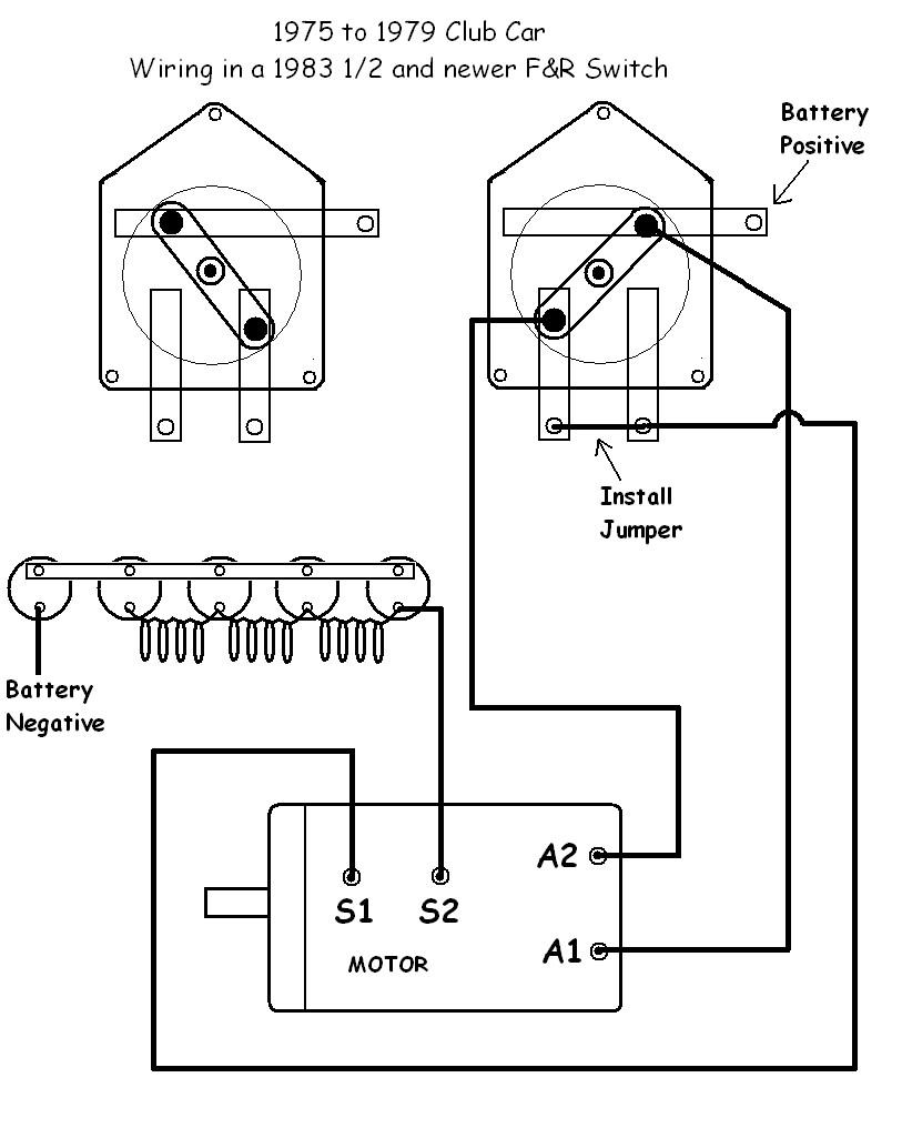 Club Car Golf Cart Wiring Diagram Volt Clubcar Gas Battery For Electric