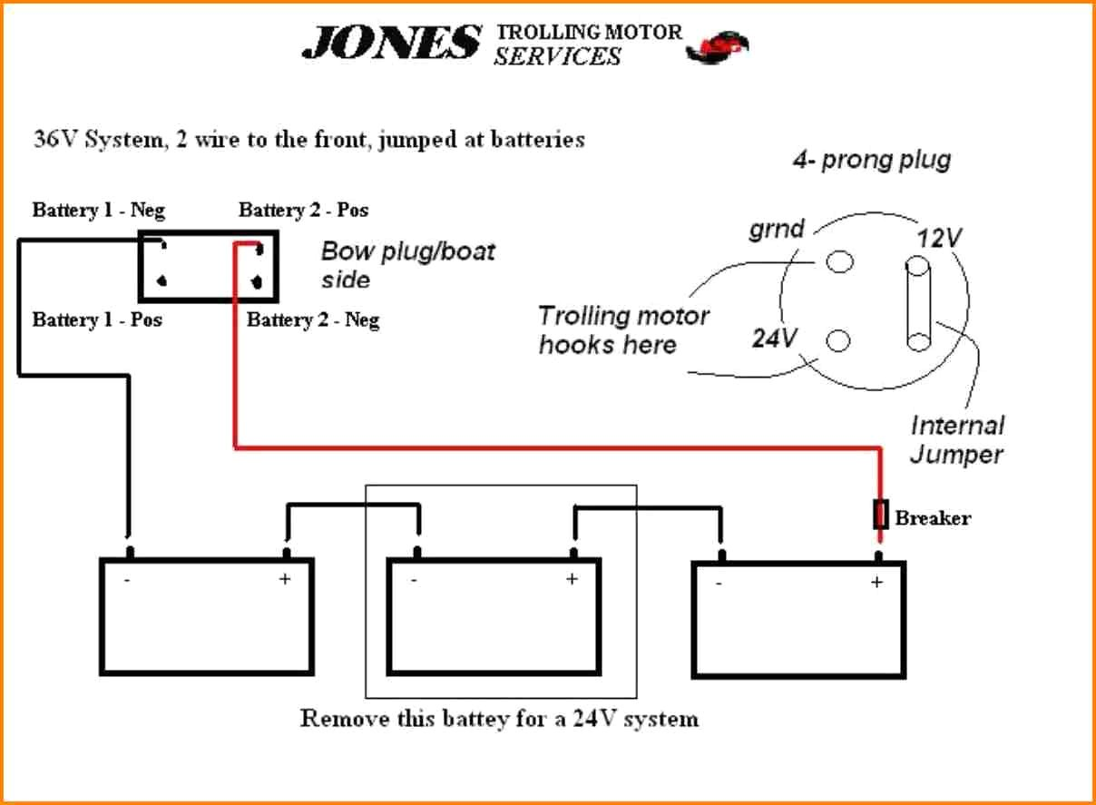 5 12 24 Volt Trolling Motor Wiring Diagram Car Cable