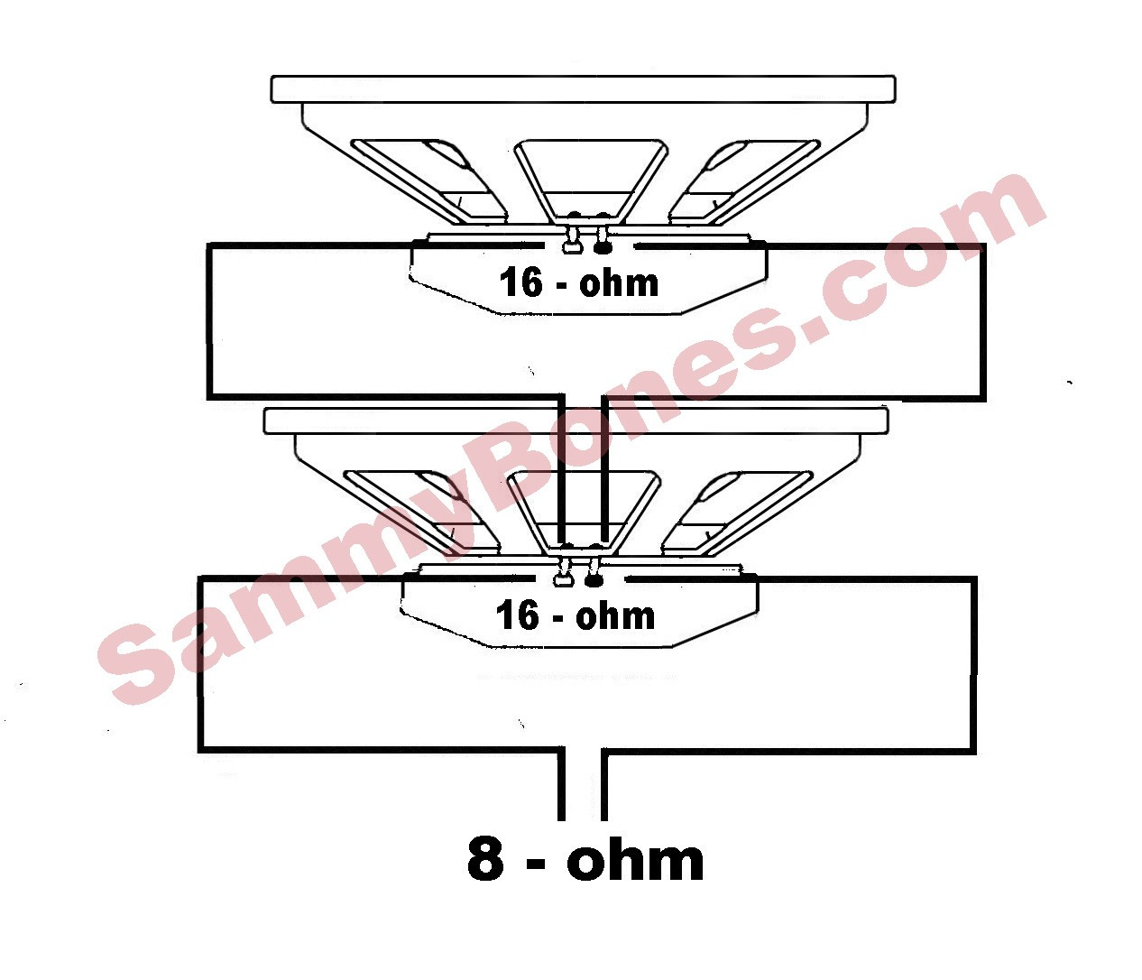 Beautiful 4 16 Ohm Speakers Everything You Need To Know Parallel Speaker Wiring Loudspeaker Wiring Diagrams