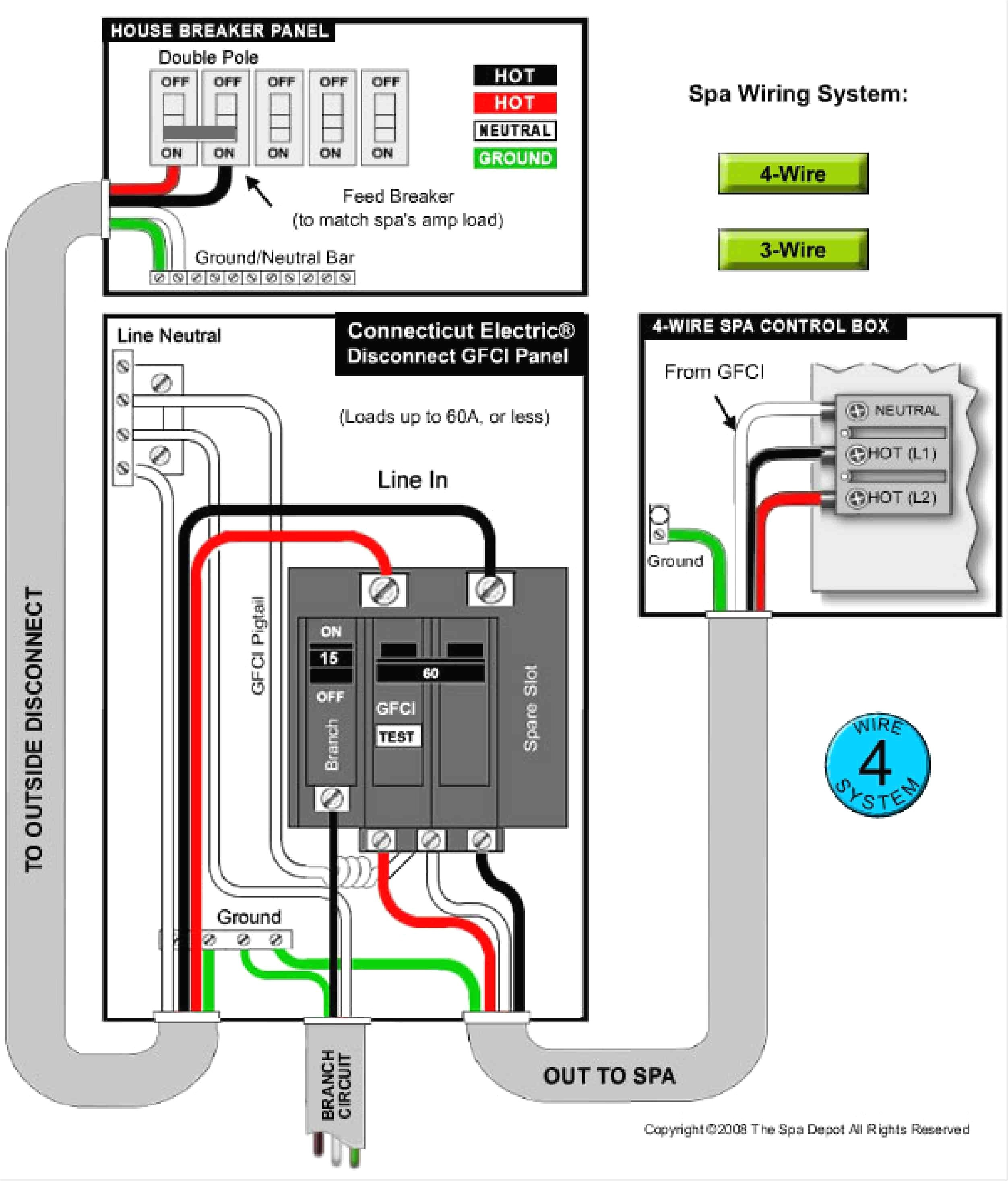 Great Wiring Diagram For Gfi Outlet Gfci Receptacle Wiring Diagram Multiple Outlet Fine Ground Fault