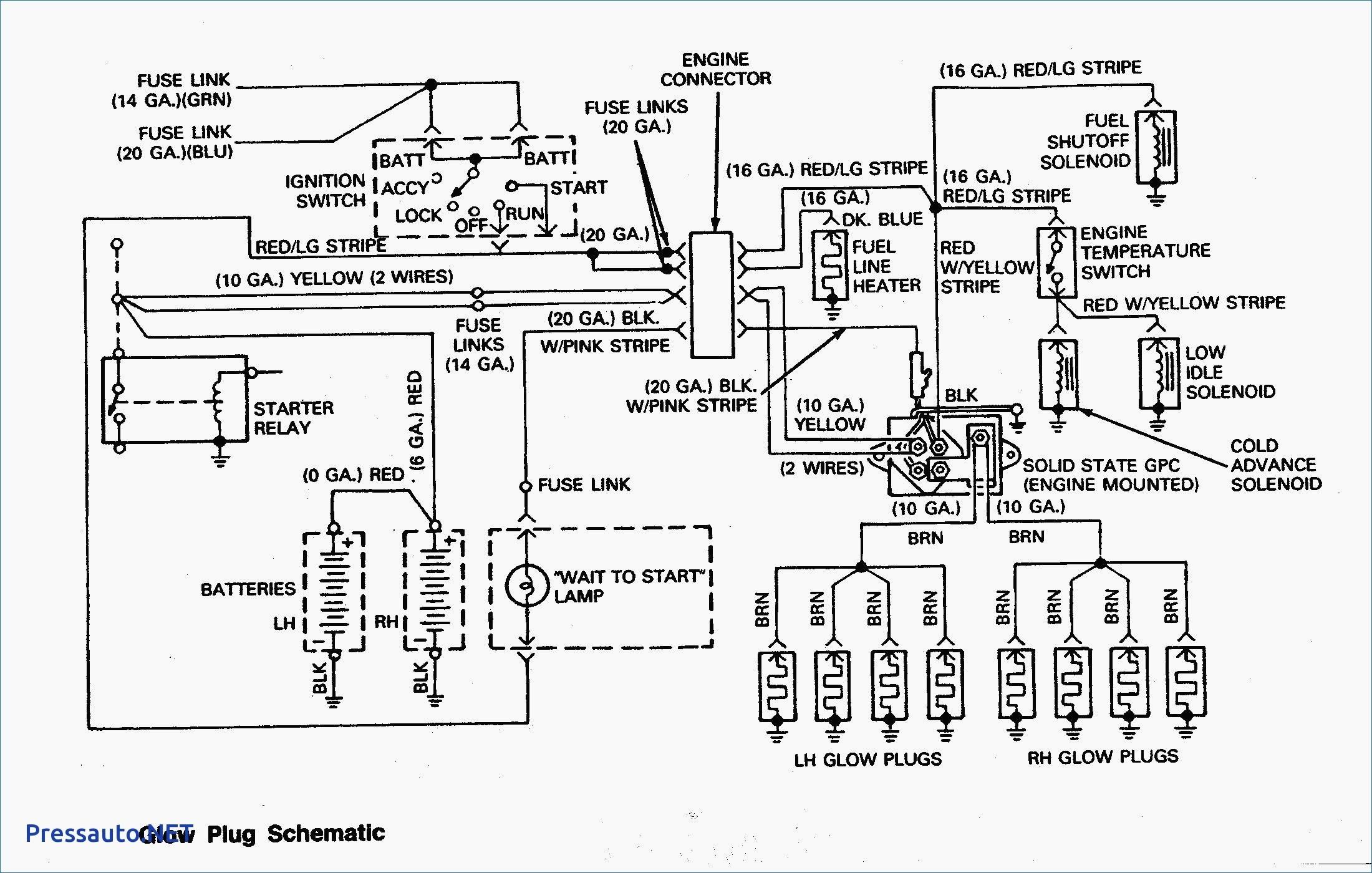 Inspirational 7 3 Powerstroke Glow Plug Relay Wiring Diagram