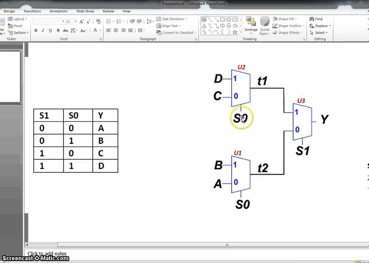8x1 Multiplexer