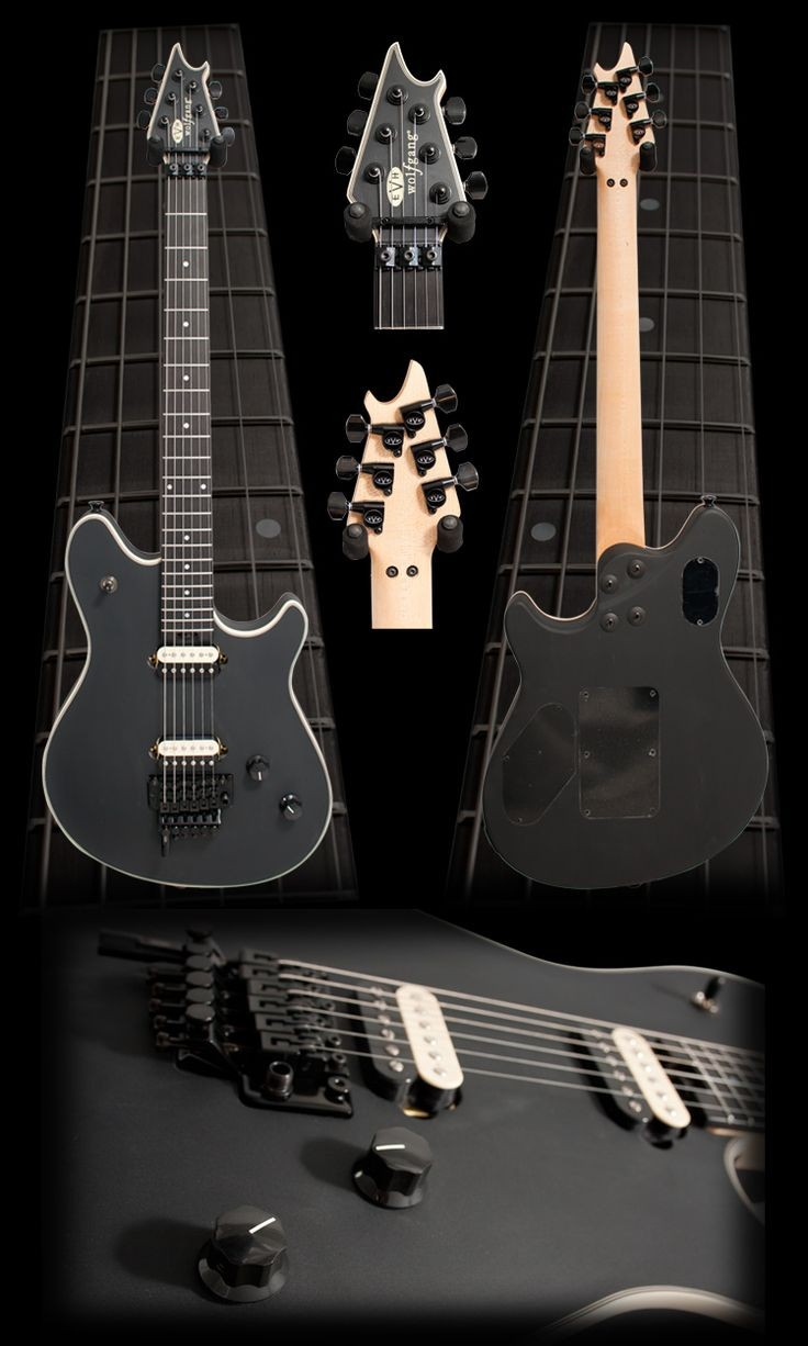 Image detail for Electric Guitars EVH Wolfgang Electric Guitar Stealth