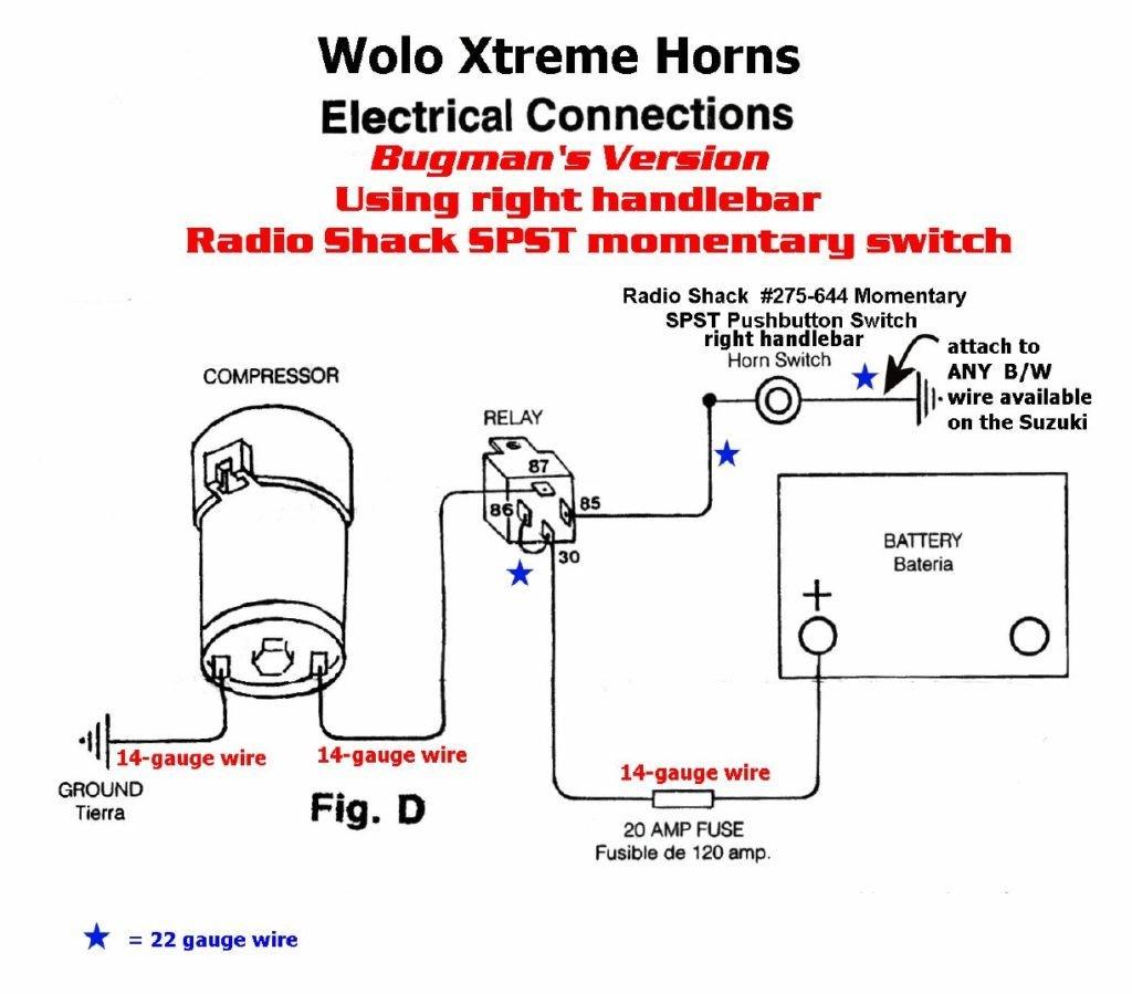 Hadley Air Horn Wiring Diagram - Wiring Diagram Online