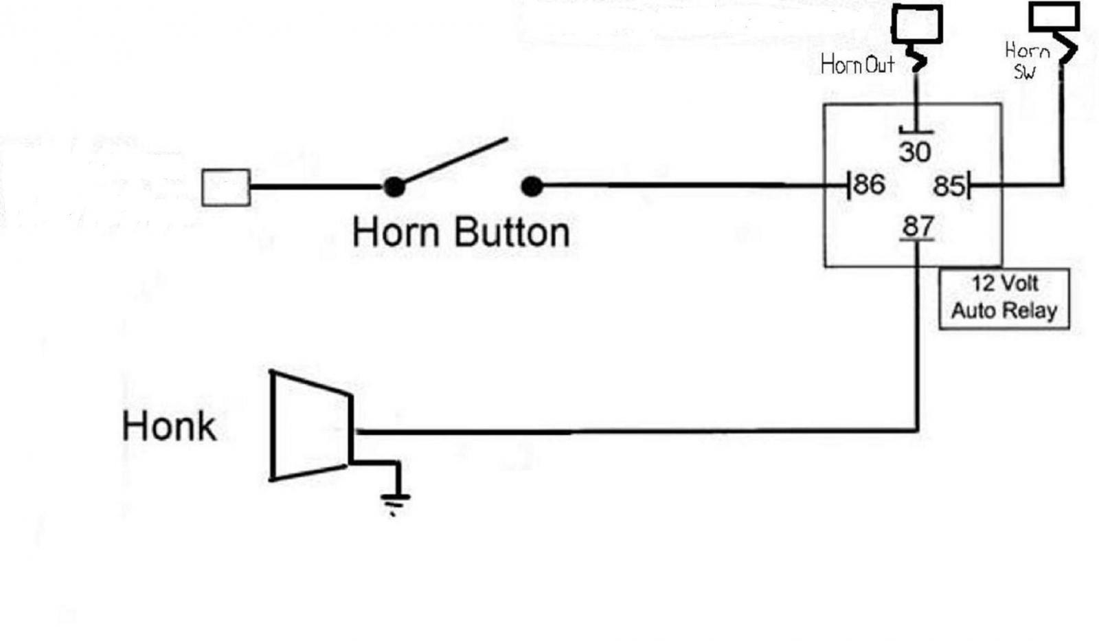 Wiring Diagram For Air Horn The Readingrat Net Bosch Relay Inside