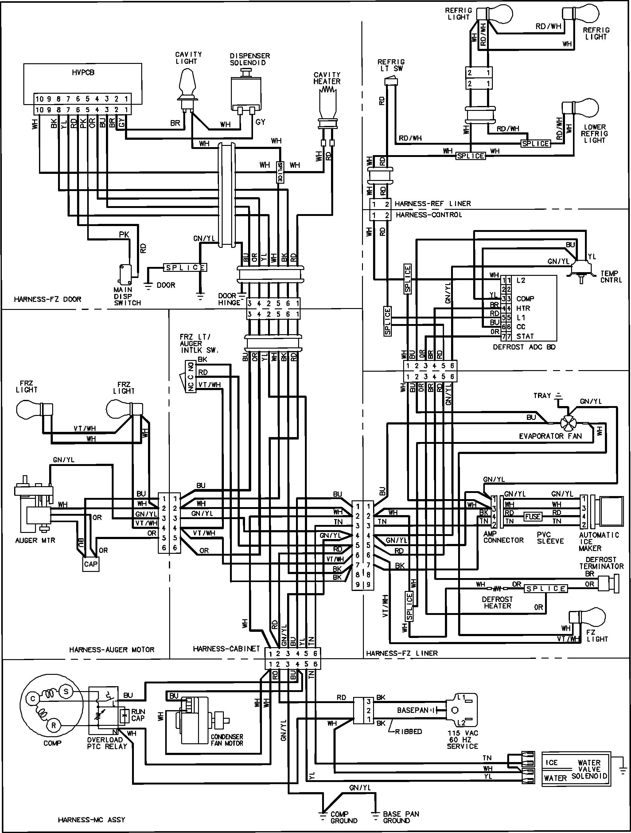 amana dryer wiring diagram new