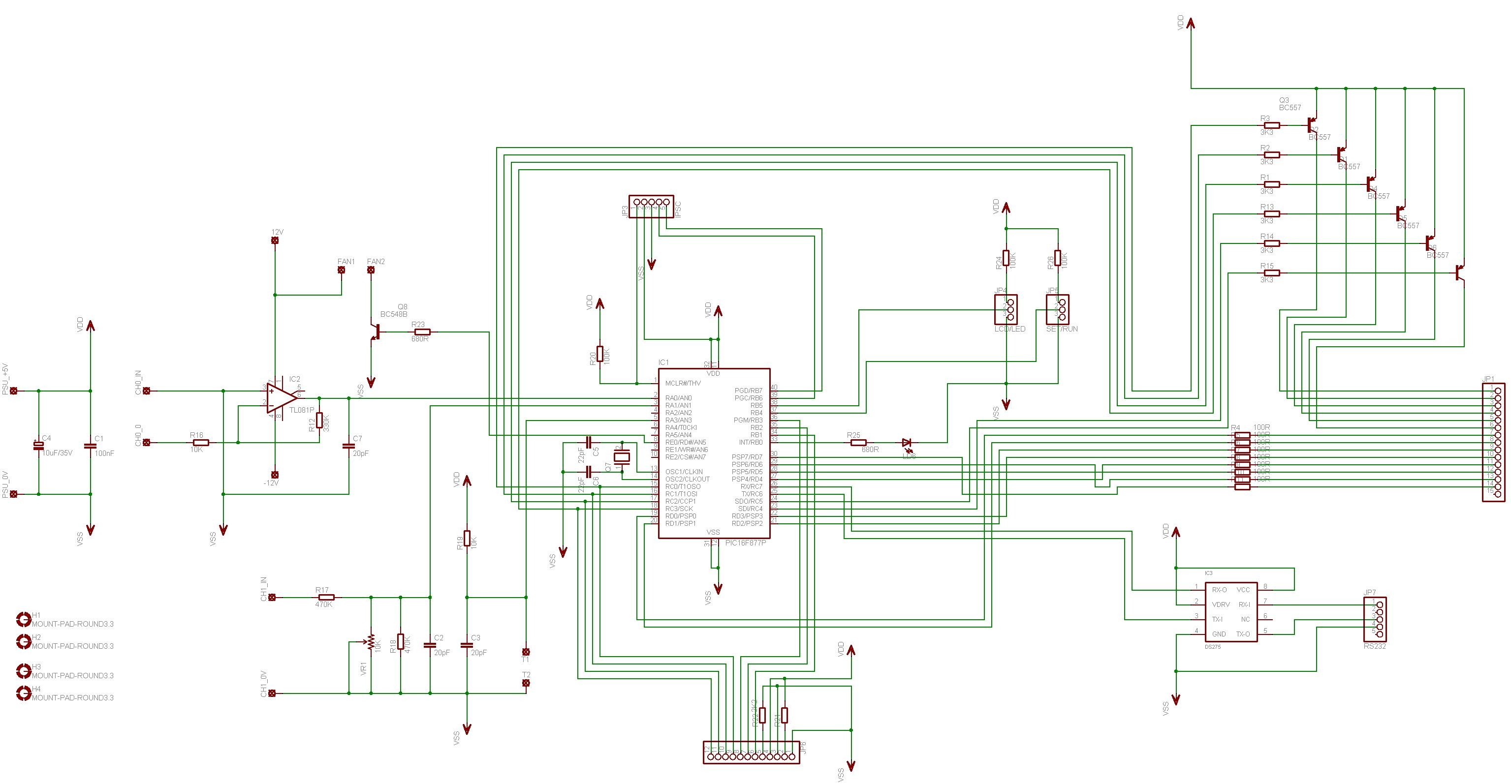 Digital Volt And Amp Meter With Temperature Control Electronics Lab Schematic Diagrams wiring panels