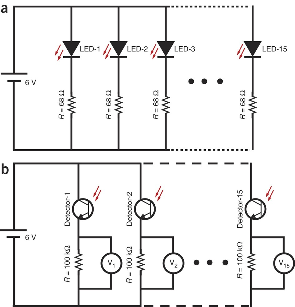 Circuit Diagrams For The Od Detection System Building A Series Diagram Calculation Nprot Full