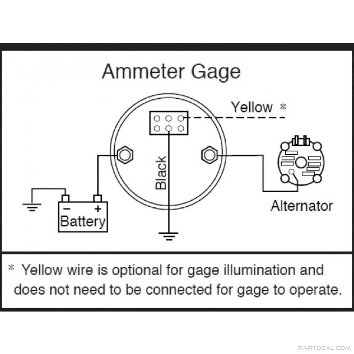 Amp Gauge Wiring Diagram B2network