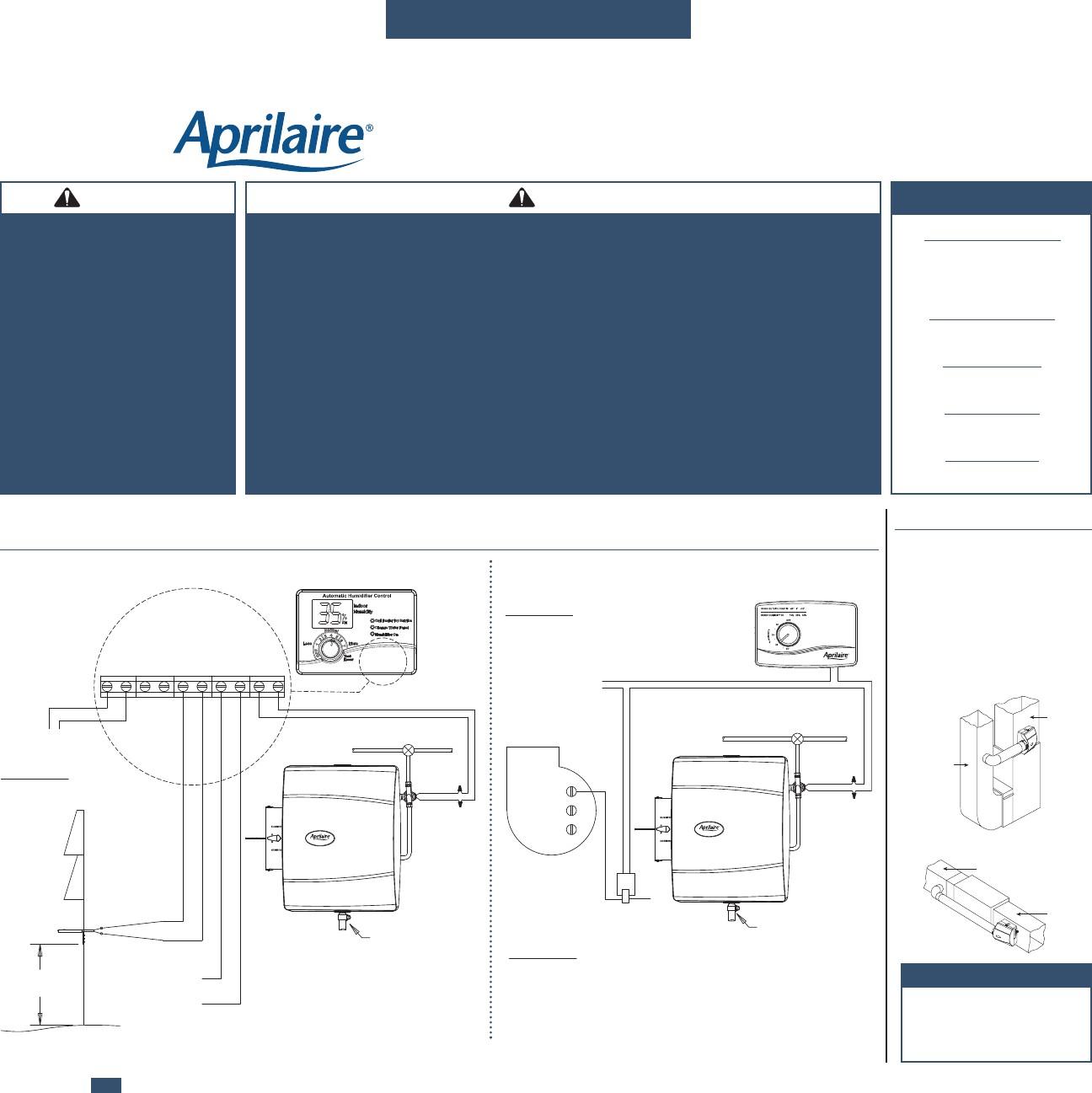 Aprilaire 600 Wiring Diagram Tempstar - Find Wiring Diagram •