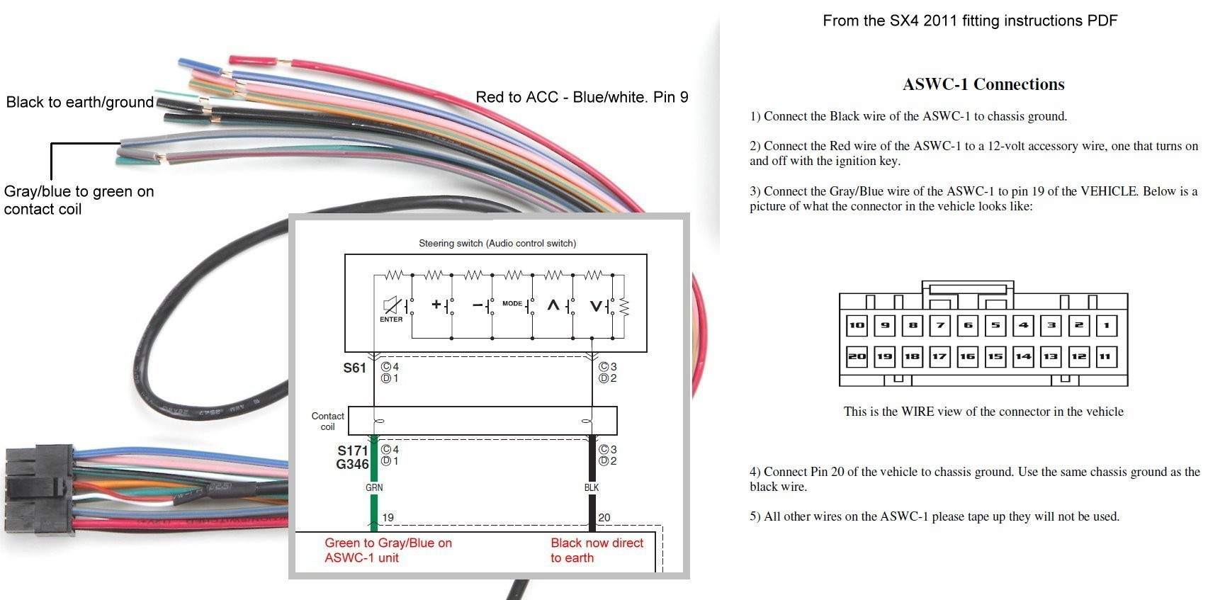 Axxess Aswc-1 Wiring Diagram from mainetreasurechest.com