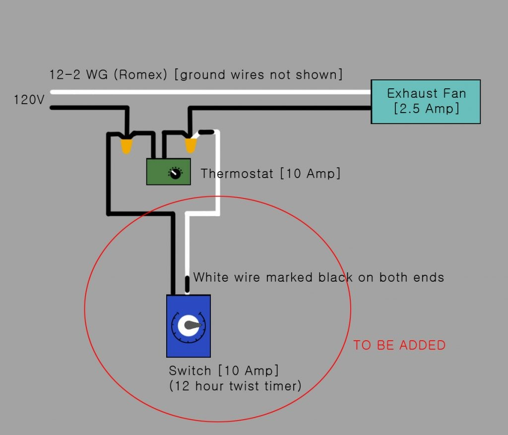 Z7pt3 Electrical Would This The Correct Way To Timer Switch Whole House Fan Wiring Diagram Master
