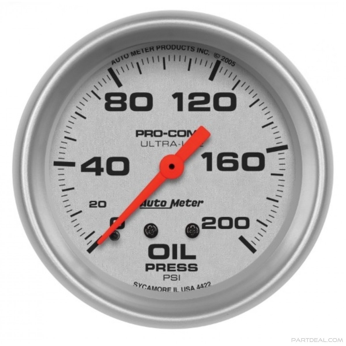 Autometer Oil Pressure Gauge 4422