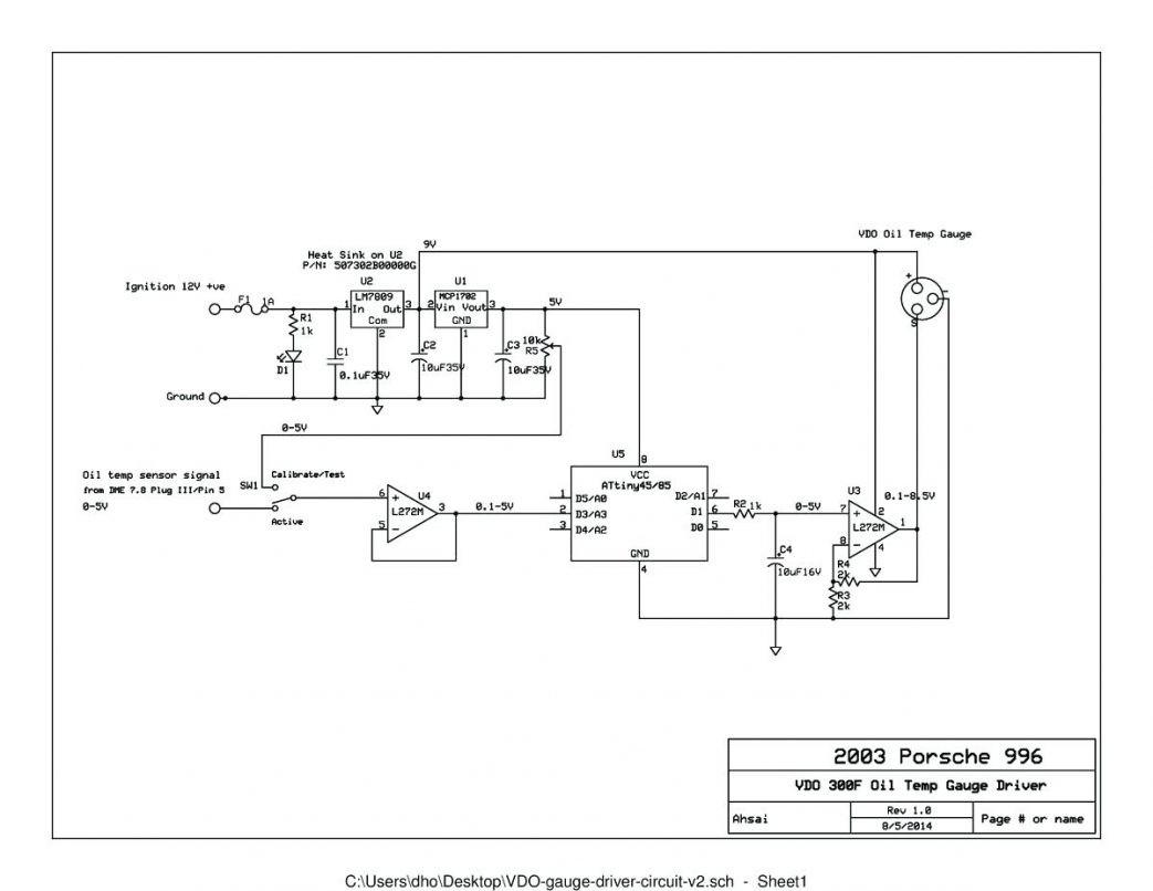Temperature Gauge Wiring Diagram canopi