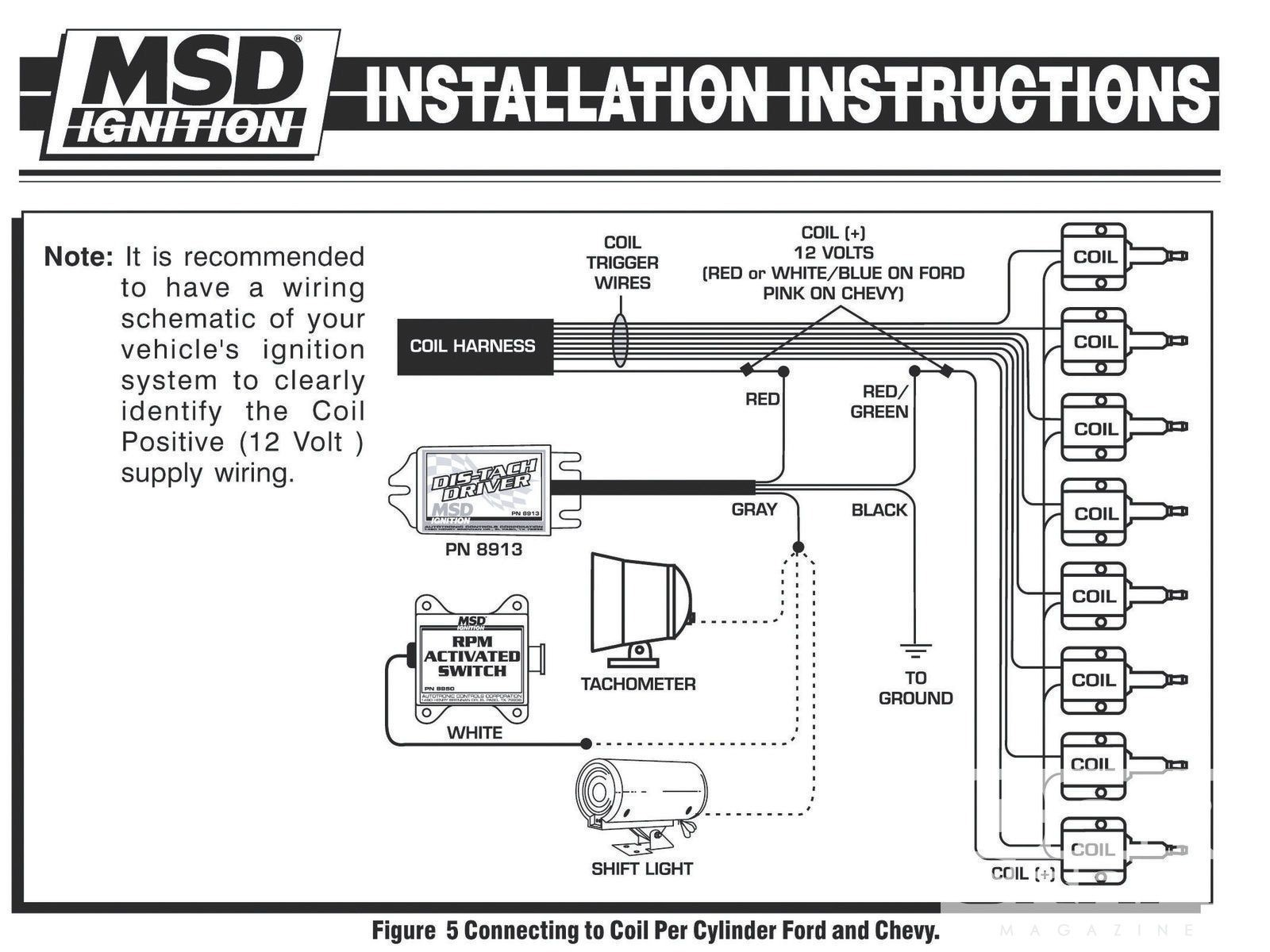Autometer Tach Wiring Diagram New fortable Auto Meter Street Tach Wiring Diagram S