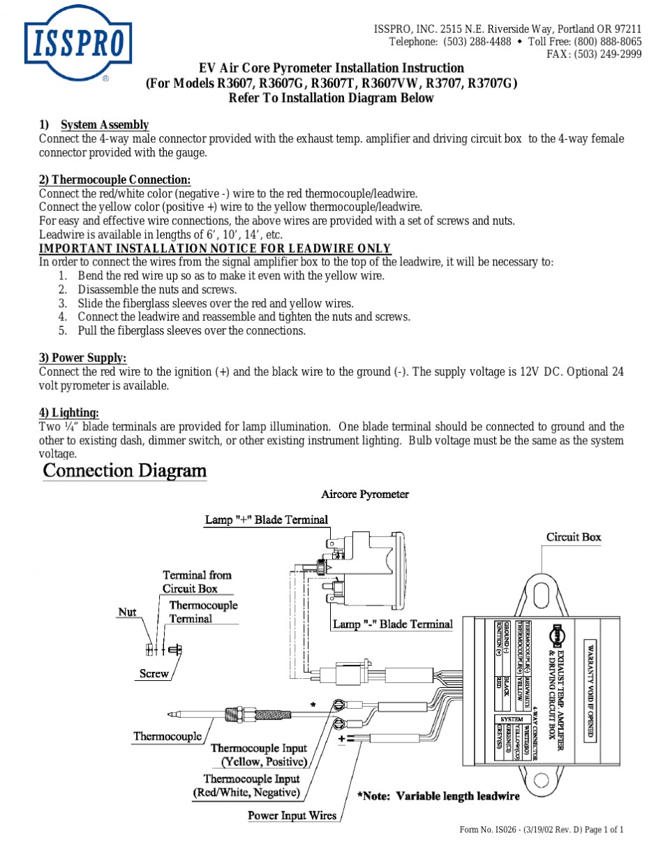 Wiring Diagram For Autometer Volt Gauge Solutions Gauges Image