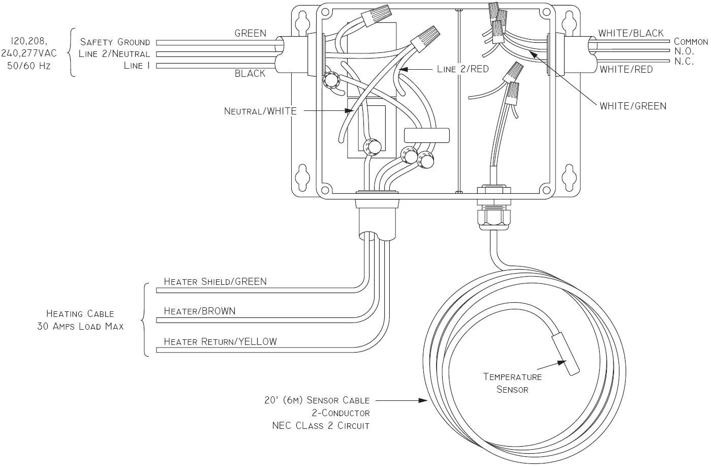 Central Heating Thermostat Wiring Diagram Download Chromalox Endear