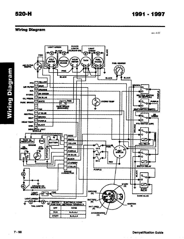 Toro wheelhorse Demystification Electical wiring diagrams for all WheelHorse…