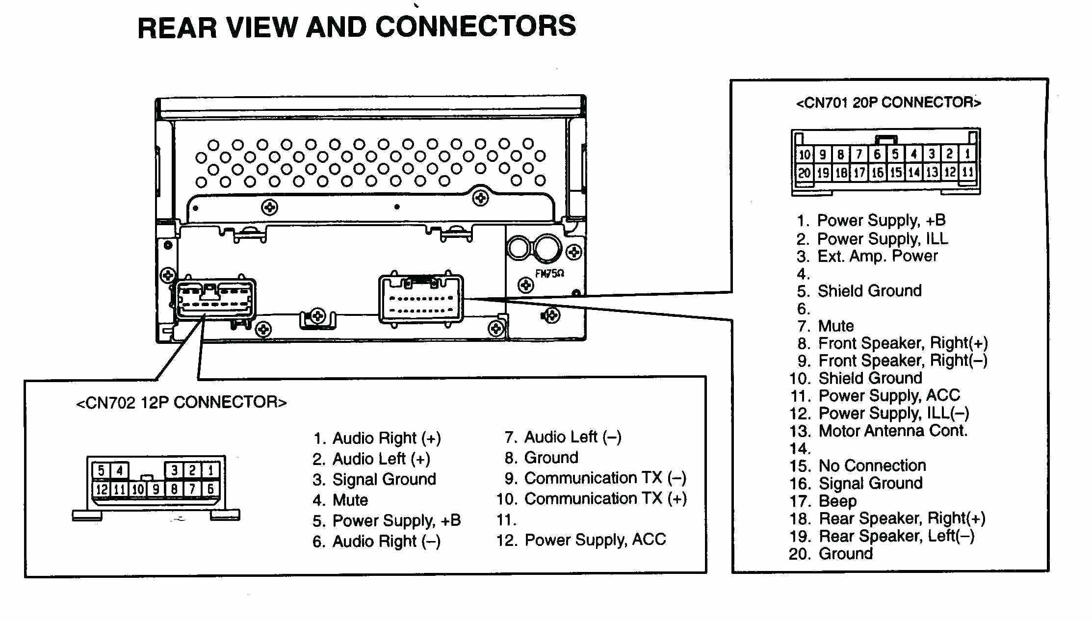 2001 Nissan Frontier Radio Wiring Diagram With Schematic Audio 2001 Nissan Frontier Radio Wiring Diagram With