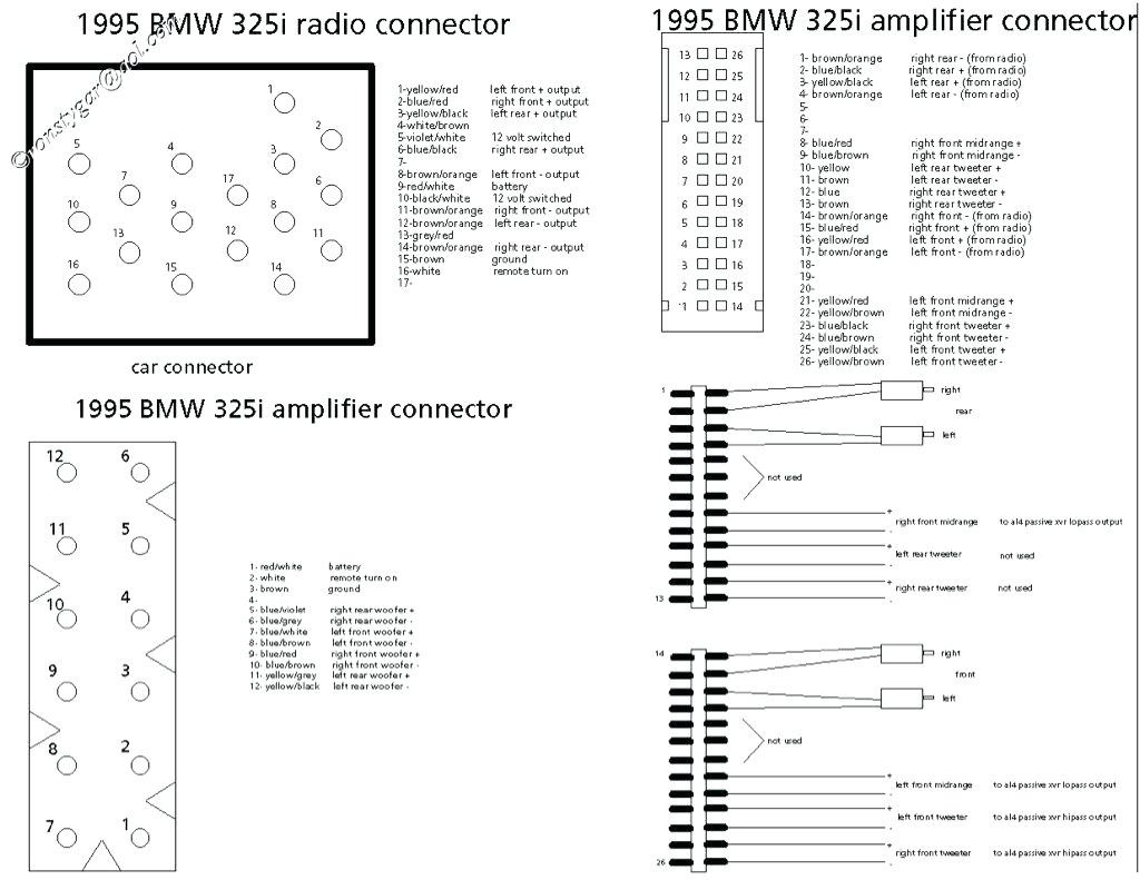 Wiring Diagram For Bmw Cd Changer : Bmw e radio wiring diagram image