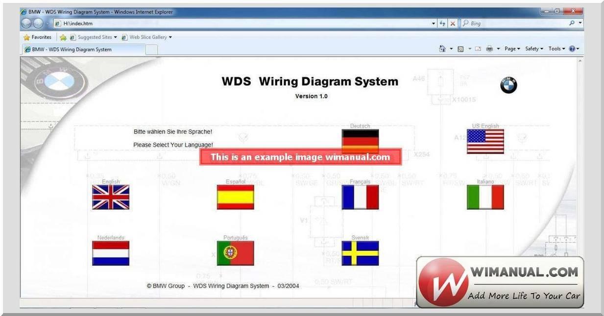 Wds Bmw Wiring Diagram System