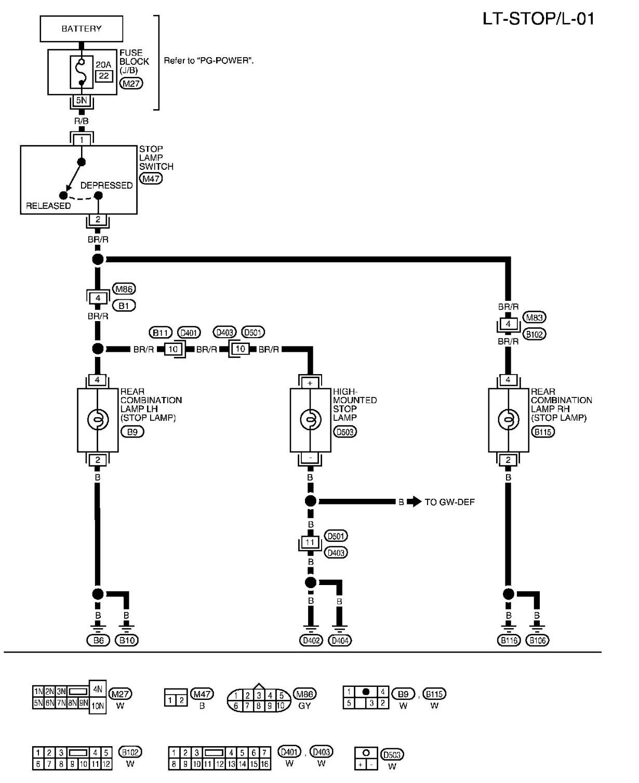 Brake Light Wiring Diagram And 2009 11 10 0000 Inside