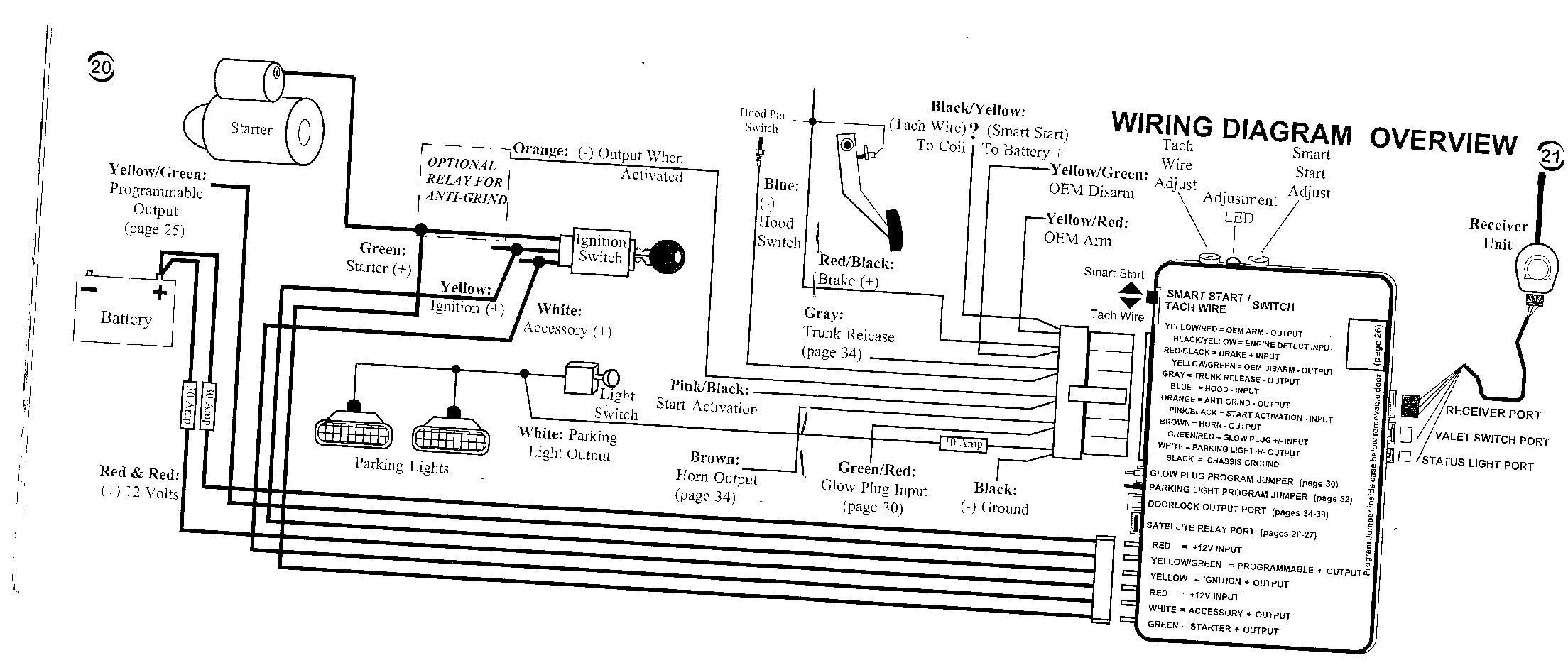 Diagram Auto Start Wiring Ford Escape Remote Transformer Starter Viper 5701 Generator Bulldog Full