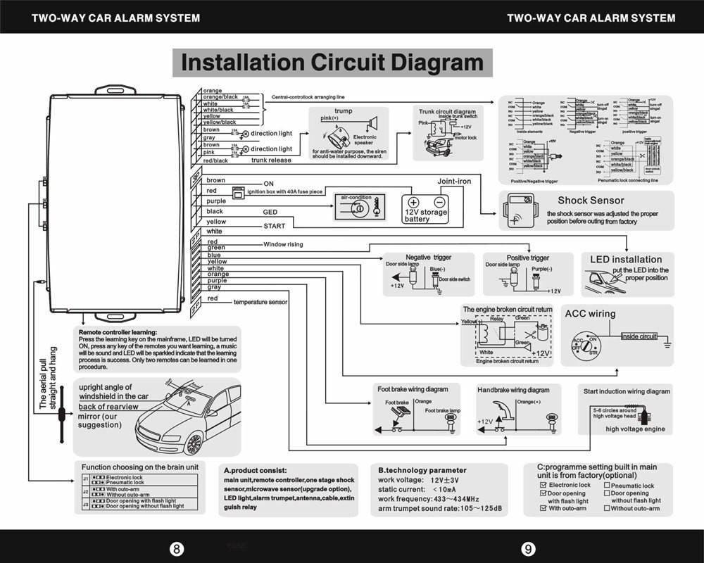 78 Corvette Alarm System Wiring Diagram With Car Diagrams Free Download Bulldog