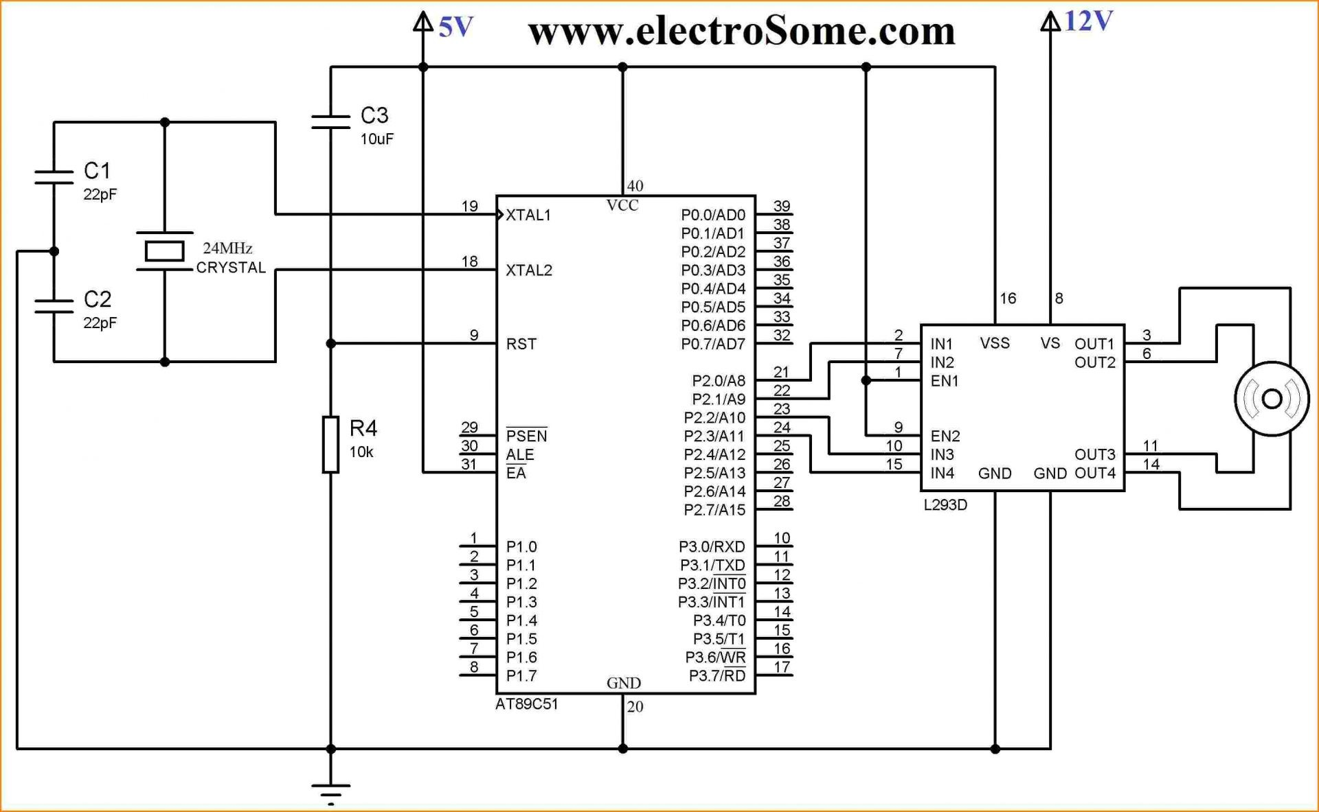 Cmos Camera Wiring Diagram Samsung Security For In Bunker Hill Interfacing Bipolar Stepper Motor With Using