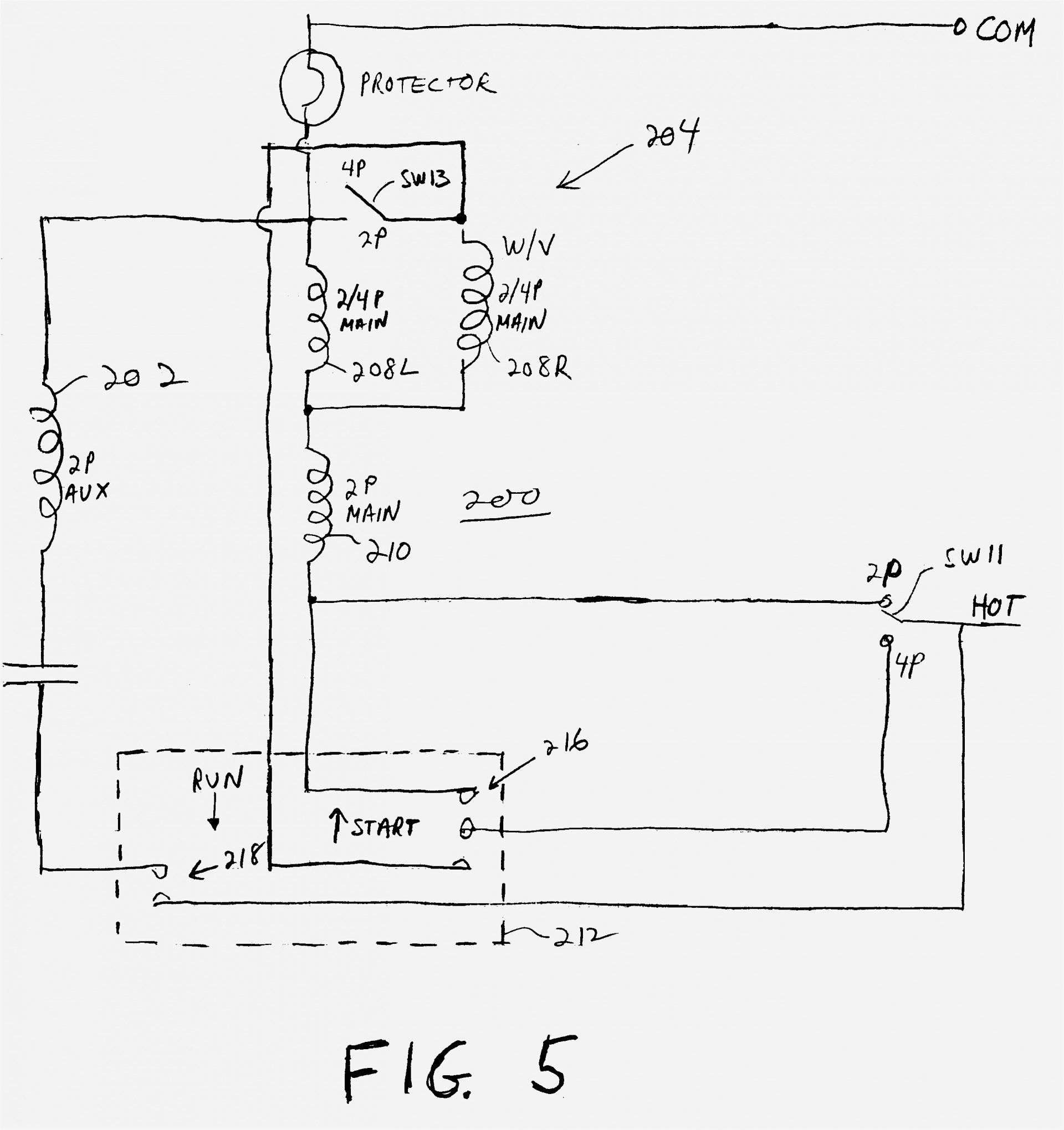 Wiring Diagram Capacitor Symbol Electrical Diagrams Trailer Rsa Start Run Motor Baldor Electricotor