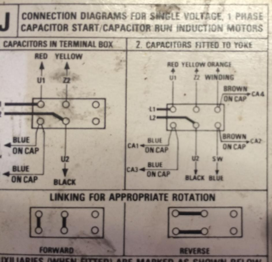 Run Capacitor Wiring Diagram Carlplant And Motor With Incredible