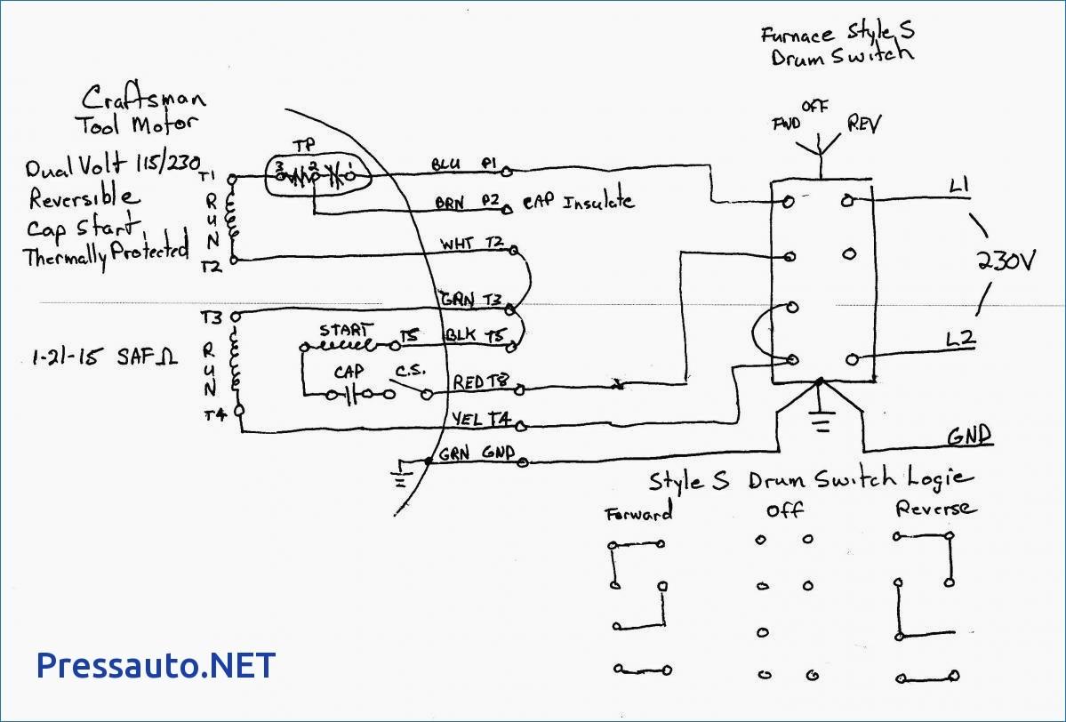 Single Phase Capacitor Start Run Motor Wiring Diagram Capacitor