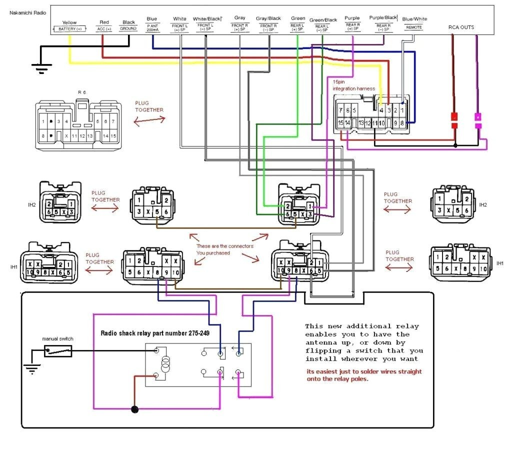 Amp Wiring Diagrams Kit Instructions Alpine Channel Diagram Two Car Guitar Tube Meter