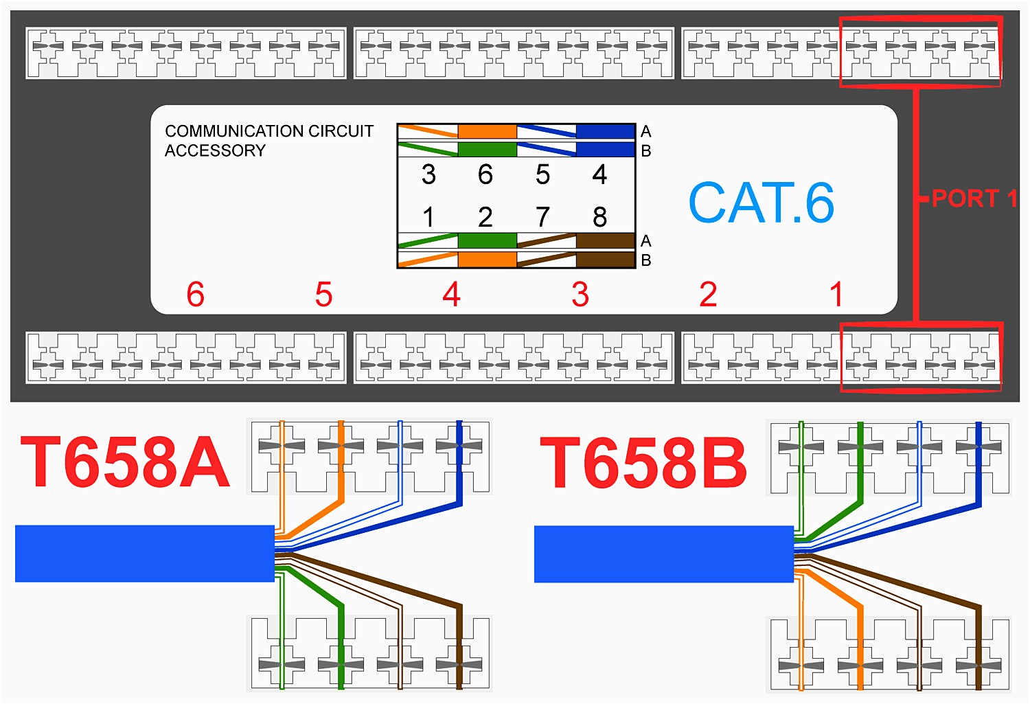 Connector Wiring Diagram On Cat5e Rj45 Keystone Jack Monoprice Rj12 Down Additionally Cat 6 Rh Boomerneur Co