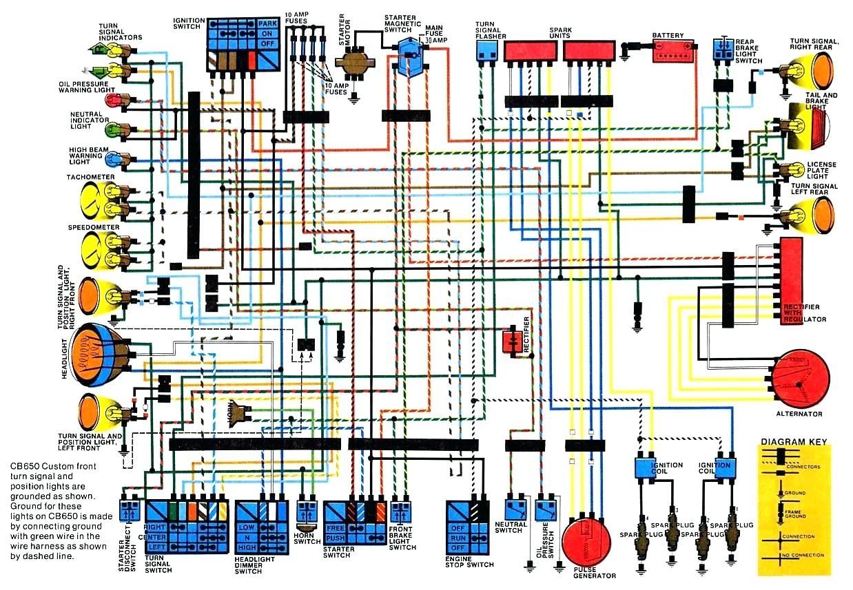 Cb 750 Wiring Diagram Awesome | Wiring Diagram Image