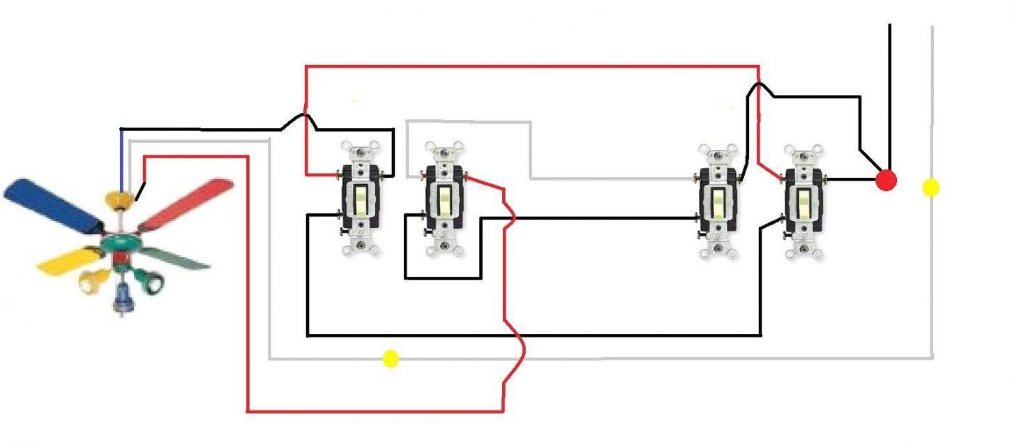 1 of 6 Ceiling Fan 3 Way Switch Wiring Diagram nice Ceiling Fan Light Switch Wiring 1
