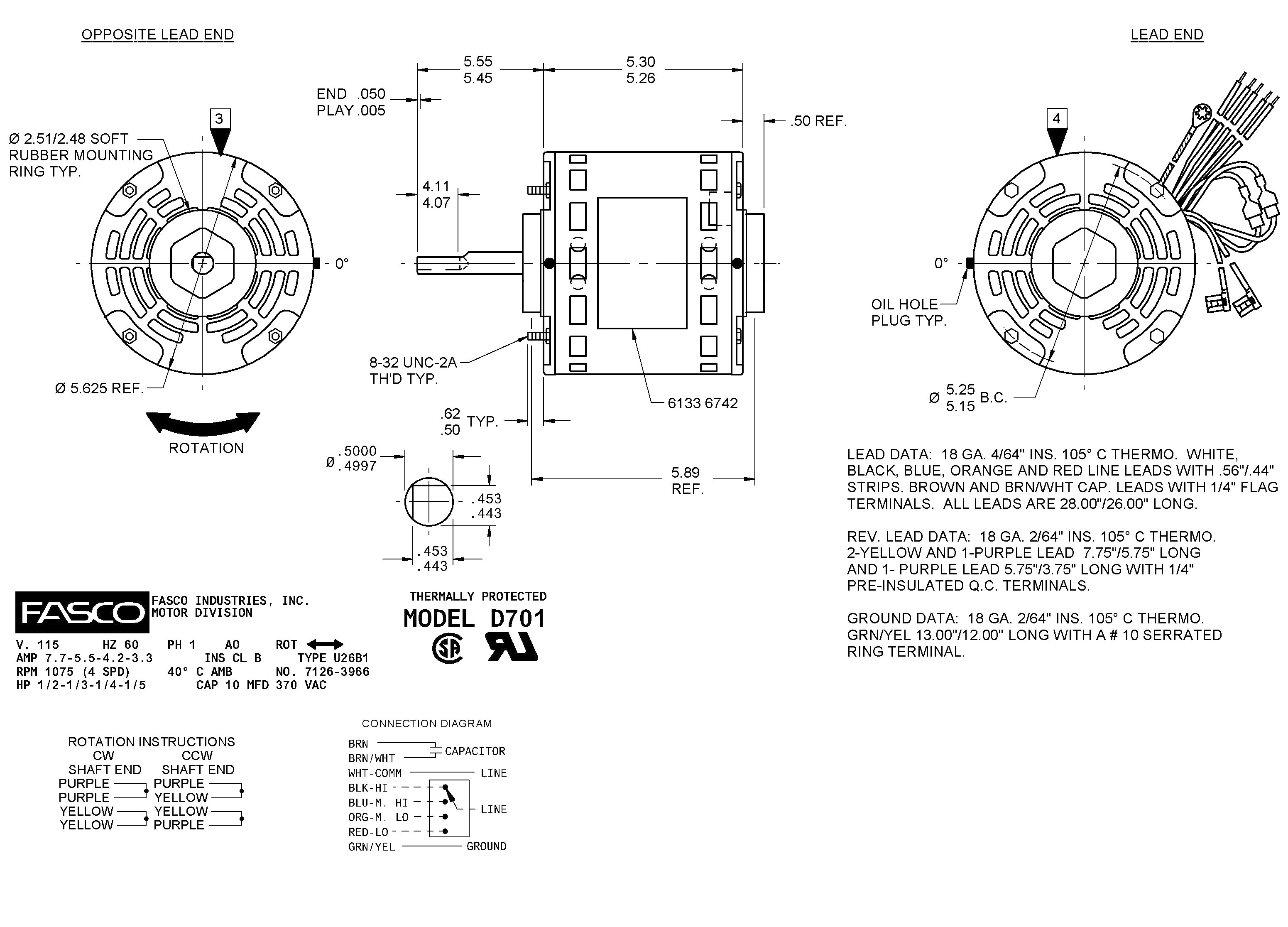 Century Electric Motor Wiring Diagram Unique Image Allis Chalmers Schematic For The And Ao Smith Speed Direct Drive Fan