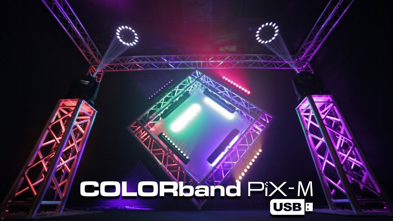 Chauvet Led Bars Awesome Wiring Diagram Image Dj Colorband Pix M Usb By