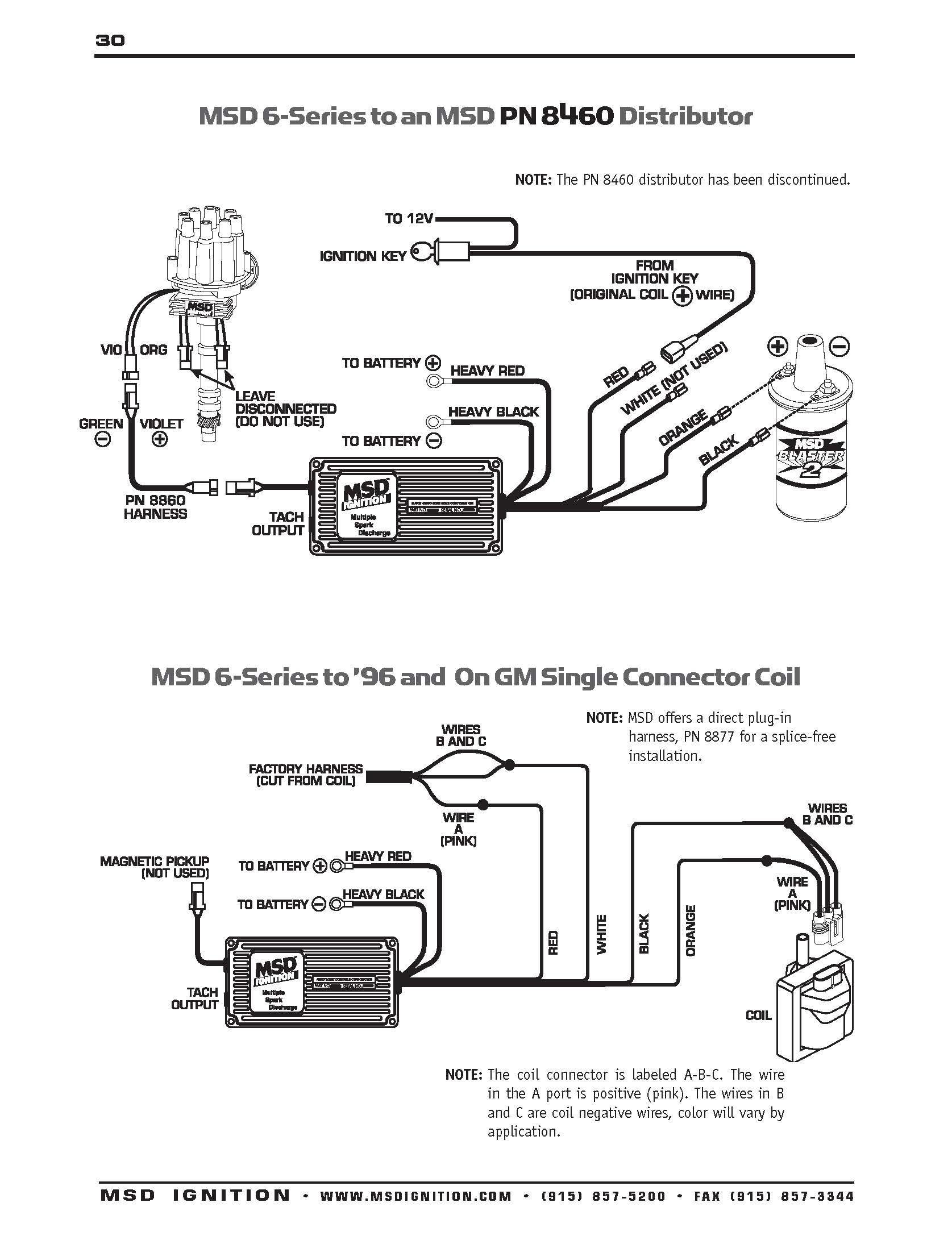 Msd Distributor Wiring Diagram Elvenlabs Best