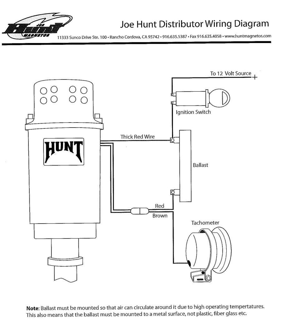 Wiring Diagram For Joe Hunt HEI Distributor Alkydigger Cool